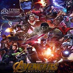 แนะนำหนัง Avengers infinity war